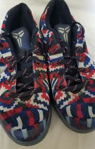 Nike 6Y  2014 red white and blue sneaker shoes